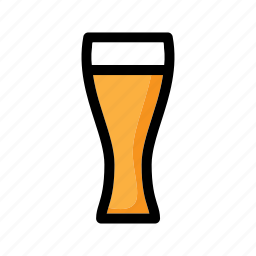 alcohol, bavarian, beer, beer glass, beverage, drink, glass icon