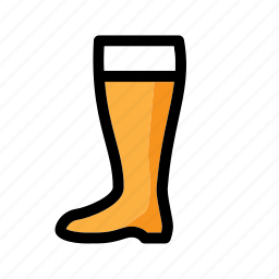 alcohol, beer, beverage, boot, drink, glass, octoberfest icon