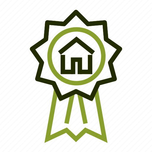 apartment, award, best, estate, quality icon