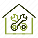 apartment, construction, home, house, repair icon
