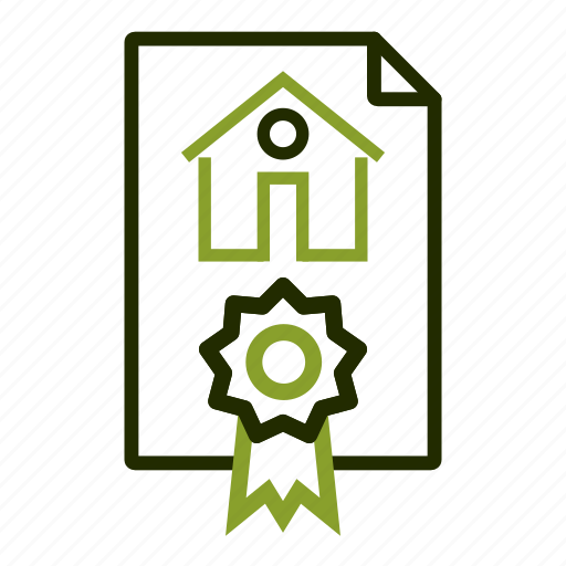 apartment, contract, document, home, loan icon