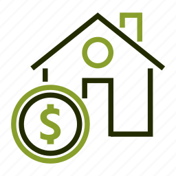building, dollar, home, house, price icon