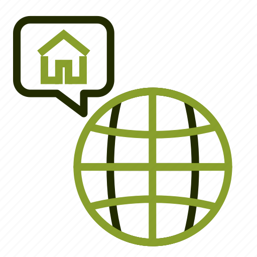 home, house, loan, location, property icon