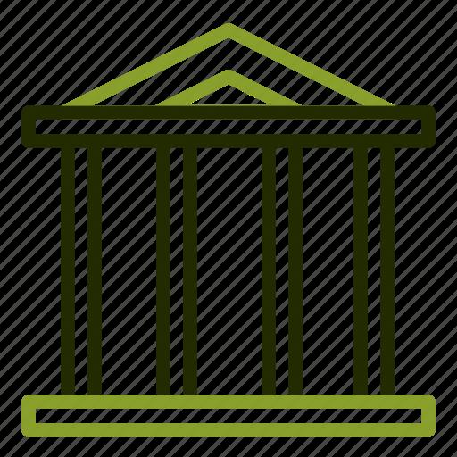 bank, building, finance, financial, money icon