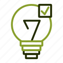 bulbelectricity, energy, light, power icon