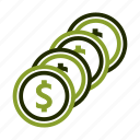 buying, cash, coin, money, paying icon