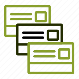 card, credit, money, paying, payment icon