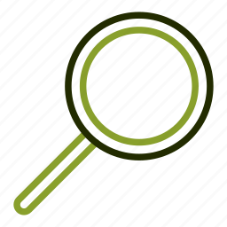 explore, glass, inspection, magnifying, searching icon