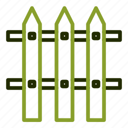 fence, guard, privacy, protection, secure icon