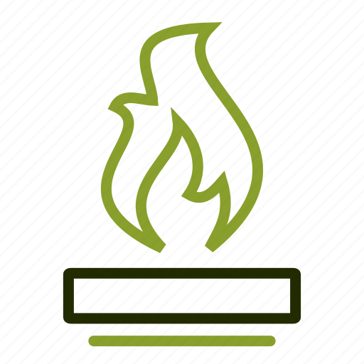 camp, fire, flame, gas, heat icon