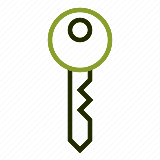 danger, estate, key, real, security icon