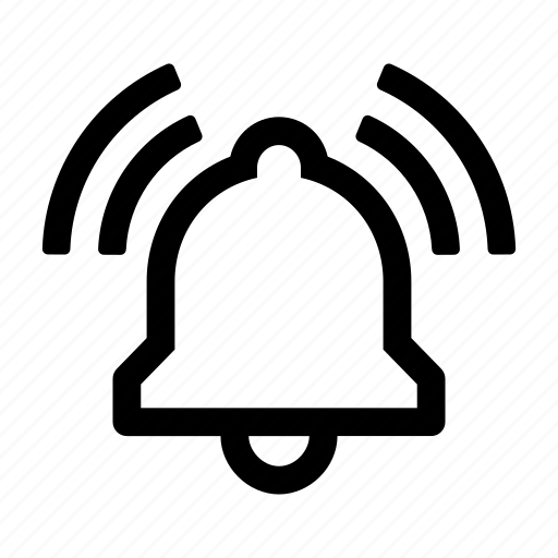 alarm, alert, audio, notification, reminder, ringing, sound icon