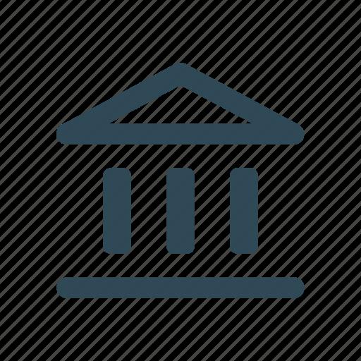 bank, column, forum, guarantor icon icon