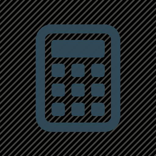 calculate, calculator, finance, math icon icon