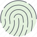 biometric, finger, fingerprint, identification, identity, scan, touch icon