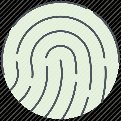 biometric, finger, fingerprint, identification, identity, scan, touch icon