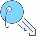 key, lock, locker, password, privacy, protection, security icon