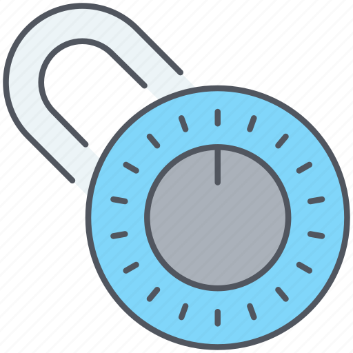 padlock, password, privacy, protection, safety, security icon