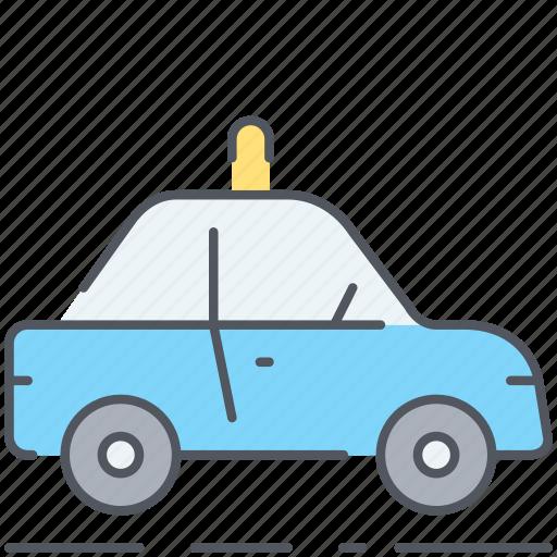 automobile, car, crime, patrol, police, pursuit, vehicle icon