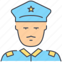 policeman, crime, officer, patrol, police, security, sheriff icon