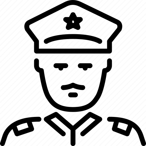 officer, person, policeman, profession, protection, security icon