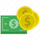 banking, cash, currency, dollar, finance, money, payment icon
