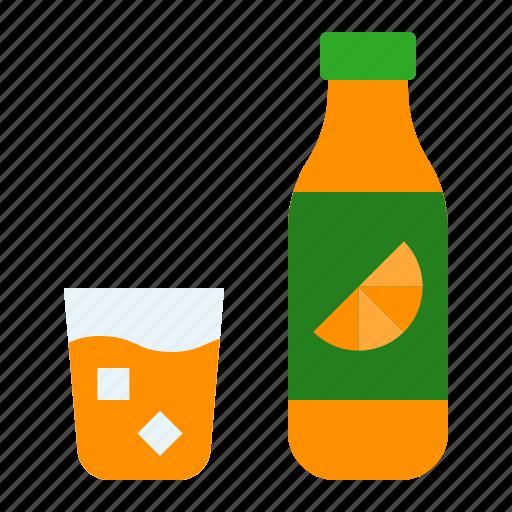 beverage, bottle, drink, drinks, juice, orange icon