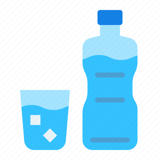 Beverage, bottle, drink, drinks, glass, water icon - Download on Iconfinder