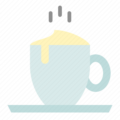 beverage, capuchino, coffee, drink, steamed milk icon