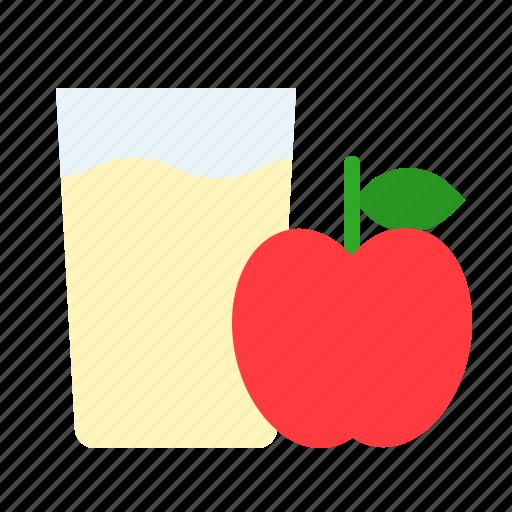 Apple, beverage, drink, glass, juice icon - Download on Iconfinder