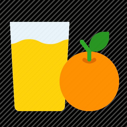 Beverage, drink, fruit, glass, juice, orange icon - Download on Iconfinder