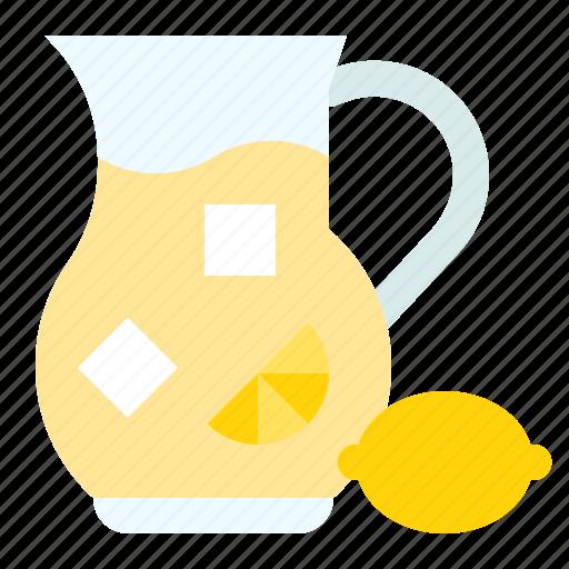 beverage, drink, fruit, juice, lemon, lemonade icon