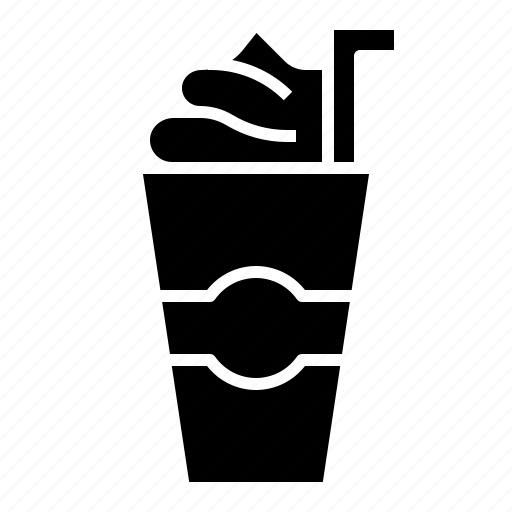 beverage, coco, coffee, cream, ice, whipped icon
