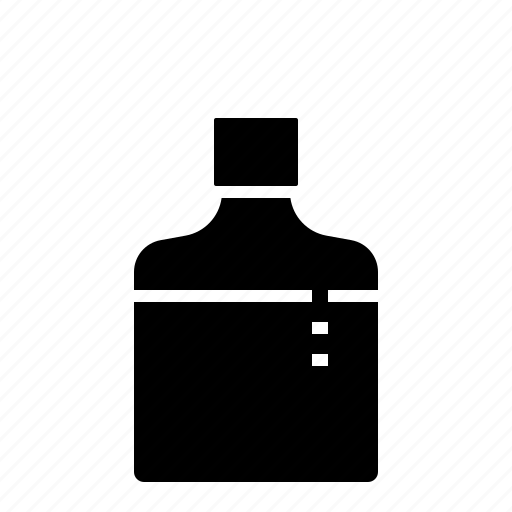 bottle, drink, liqoure, whisky icon
