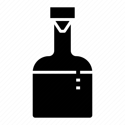 bottle, liqoure, party, vodka, whisky icon