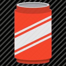beverage, can, cola, drink, party, soda icon