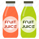 beverage, bottle, drink, fruit, healthy, juice icon