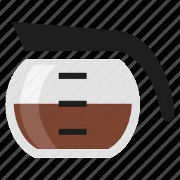 beverage, breakfast, coffee, drink, hot, jug icon