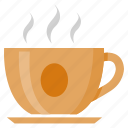 beverage, breakfast, coffee, cup, drink, hot icon