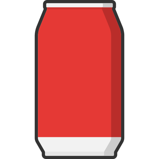 beverage, can, coke, cola, drink, packaging, soda icon