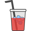 coffee, cold, cup, drink, glass, package, food icon