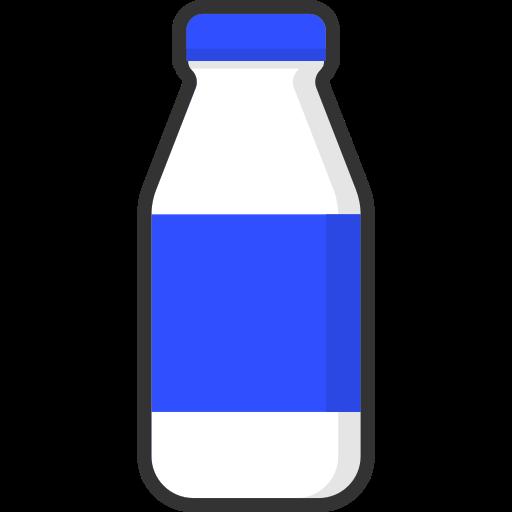 Beverage, bottle, drink, food, milk, packaging, healthy icon - Free download