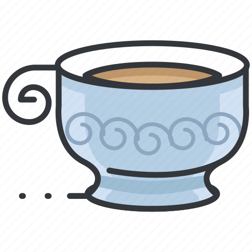 Beverage, coffee, drink, hot, mug, tea icon - Download on Iconfinder