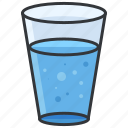 glass, water, beverage, drink icon