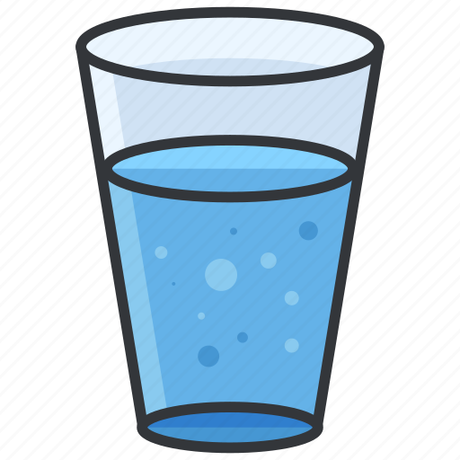 Beverage, drink, glass, water icon | Icon search engine
