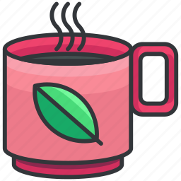 beverage, drink, herbal, hot, tea icon