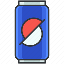 beverage, can, container, drink, soda icon