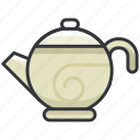 kettle, tea, beverage, cafe, coffee, drink icon