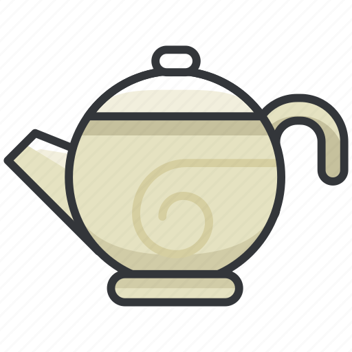 beverage, cafe, coffee, drink, kettle, tea icon