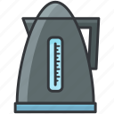 beverage, boiler, drink, hot, kettle, water icon